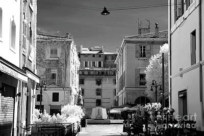 Marseille Street View Poster by John Rizzuto