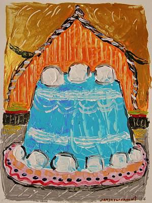 Marshmallow Cake Poster by John Williams