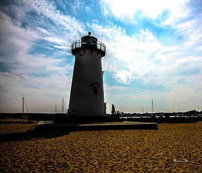 Martha's Vineyard Lighthouse - Massachusetts Poster by Madeline Ellis