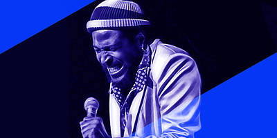 Marvin Gaye Collection Poster by Marvin Blaine