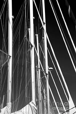 Mast Profile Poster by John Rizzuto