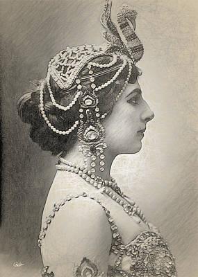 Mata Hari Portrait Poster by Joaquin Abella
