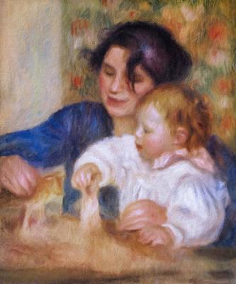 Maternal Love Poster by Georgiana Romanovna