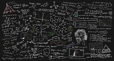 Maths Formula Poster by Setsiri Silapasuwanchai