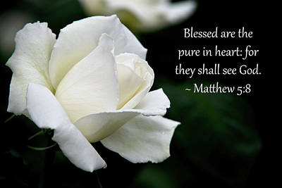 Matthew 5-8 Poster by Glenn Thomas Franco Simmons