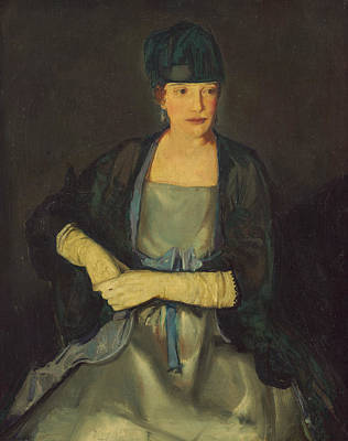 Maud Dale Poster by George Bellows