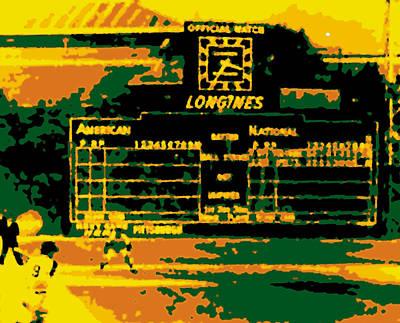 Maz World Series Homer Poster by Ron Regalado
