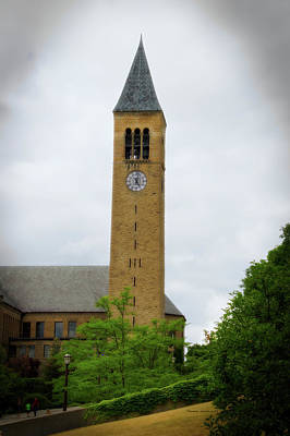 Mcgraw Tower Cornell University Ithaca New York 02 Poster by Thomas Woolworth