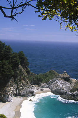 Mcway Falls - Julia Pfeiffer Burns State Park Poster by Soli Deo Gloria Wilderness And Wildlife Photography
