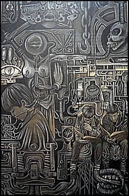 Mechanized Poster by Paulo Zerbato