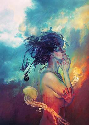 Medea Poster by Mario Sanchez Nevado