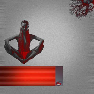 Meditation Poster by Naxart Studio