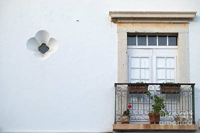 Mediterranean Balcony Poster by Angelo DeVal