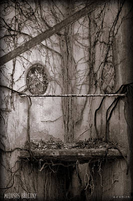 Medusas Balcony Poster by Ed Smith