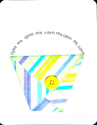 Megan Open Me Poster by Marsha Heiken