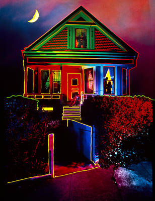 Melinda's House Poster by Garry Gay