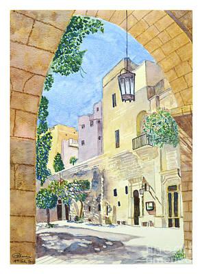 Mellieha Malta Poster by Godwin Cassar