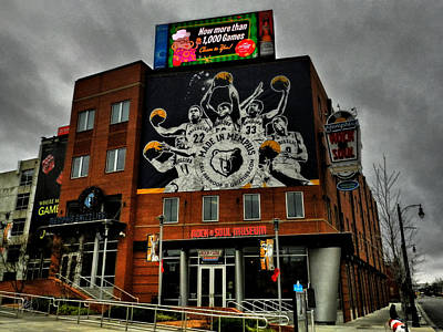 Memphis - Rock 'n' Soul Museum 001 Poster by Lance Vaughn