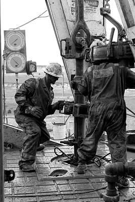 Men At Work Poster by Jason Drake