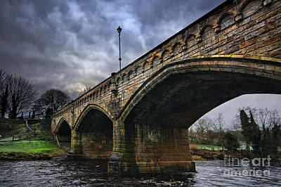 Mercury Bridge, Richmond Poster by Stephen Smith