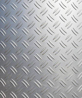 Metallic Background Poster by Hans Engbers