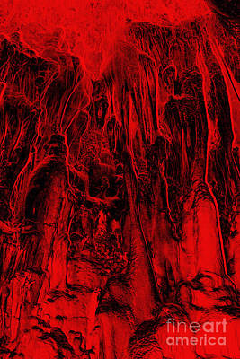 Metamorphism - Bizarre Shapes Poster by Michal Boubin