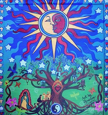 Mexican Retablos Prayer Board Poster by Genevieve Esson