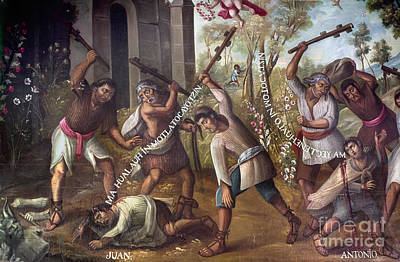 Mexico: Christian Martyrs Poster by Granger