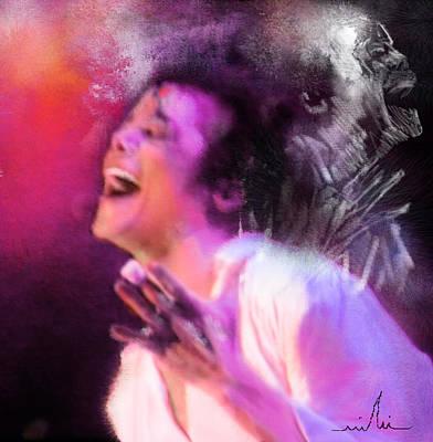 Michael Jackson 11 Poster by Miki De Goodaboom