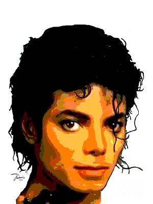 Michael Jackson Poster by Michael X
