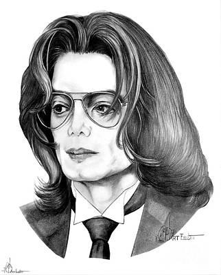 Michael Jackson Poster by Murphy Elliott