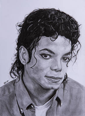 Michael Jackson Poster by Steph Maiden