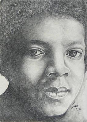 Michael Jackson Poster by Stephen Sookoo