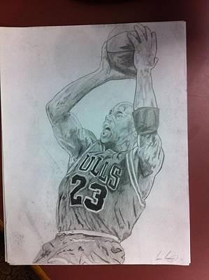 Michael Jordan Poster by Evan Conrad