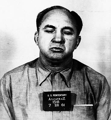 Mickey Cohen Mugshot Poster by Bill Cannon
