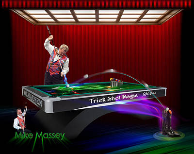Mike Massey  Poster by Draw Shots