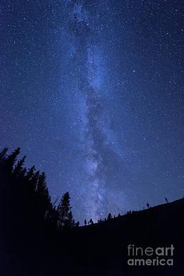 Milky Way Galaxy Poster by Juli Scalzi