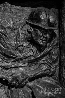 Mining Man Poster by Jim Kayalar
