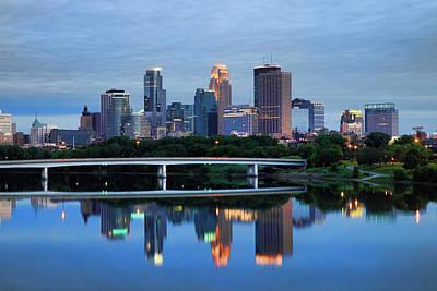 Minneapolis Reflections Poster by Rick Berk