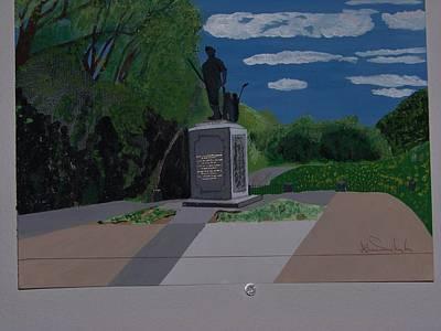 Minuteman Memorial Poster by William Demboski