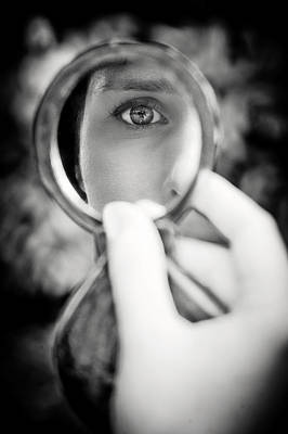 Mirror Reflection Poster by Loriental Photography