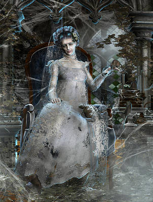 Miss. Havisham Poster by Mary Hood