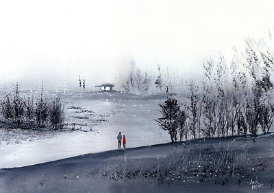 Mist Poster by Anil Nene
