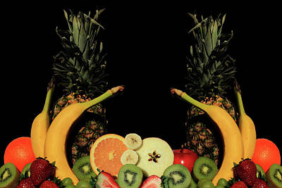 Mixed Fruits Poster by Shane Bechler