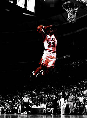 Mj Rises Poster by Brian Reaves
