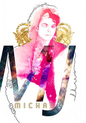 MJ Poster by Wagner Povoa