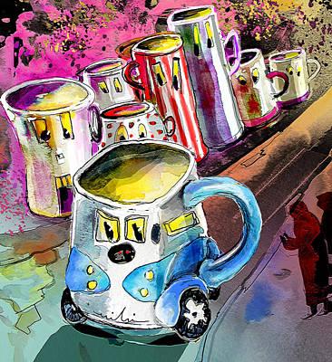 Mobile Mug Poster by Miki De Goodaboom