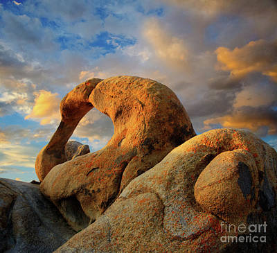 Mobious Arch California Poster by Bob Christopher