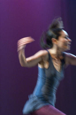 Modern Dance 11 Poster by Catherine Sobredo