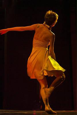 Modern Dance 15 Poster by Catherine Sobredo